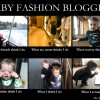 The life of a baby fashion blogger explained