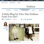 A Style Blog for Tots?