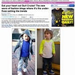 The Daily Mail | Eat your heart out Suri Cruise! The new wave of fashion blogs where it's the under fives setting the trends | 30/5/12