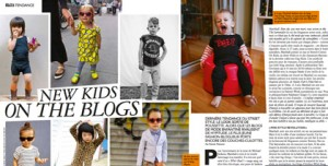 "Grazia (France) | ""New Kids on the Blogs,"" pages 66-68 