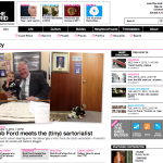 "The Grid | ""Snapshot: Toronto's littlest constituent visits Rob Ford""; ""The Rob Ford Agenda: Jan 1-5"" 