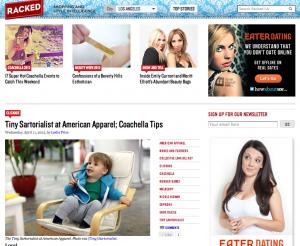 Racked LA   Tiny Sartorialist at American Apparel; Coachella Tips   11/4/2012