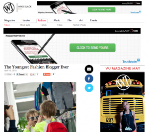 Who's Jack | The Youngest Fashion Blogger Ever | 12/4/2012
