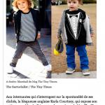 L'express| Les blogs de streetstyle s'intéressent aux enfants | 5/6/2012