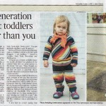 The Times London | Meet the new generation of style bloggers: toddlers who dress better than you | 3/6/2012
