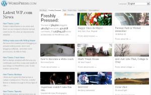 wordpress.com | Freshly Pressed | 5/5/2011 & 24/2/2012