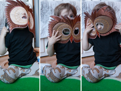 & kid-owl-costume
