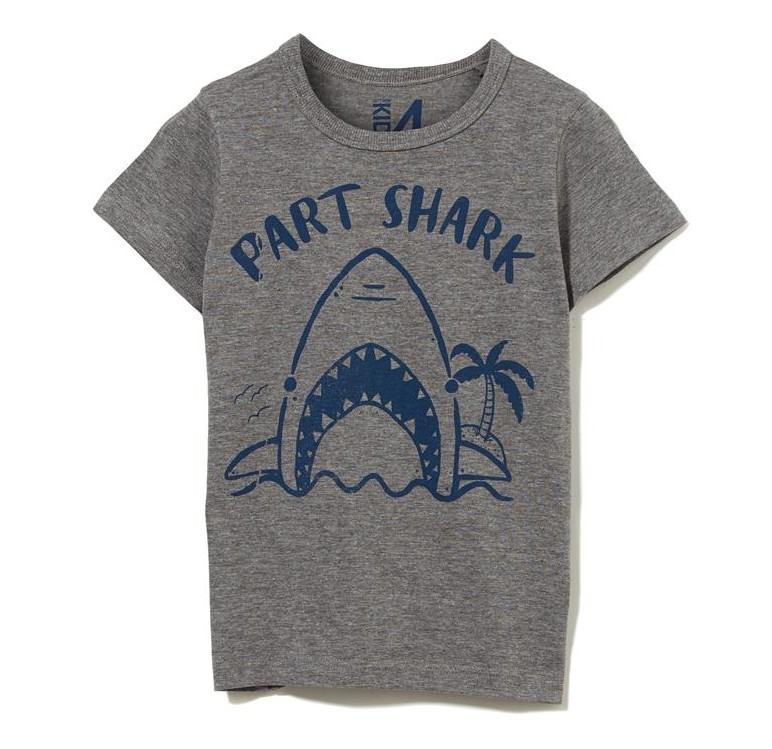 Kids Shark T-Shirt Cotton On