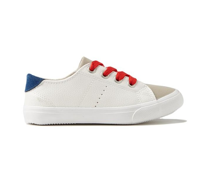 Plain White Kids Shoes