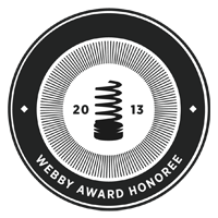 Official Honoree in The 17th Annual Webby Awards in the Personal Blog or Website category