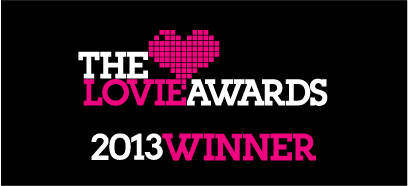 2013 Lovie Awards Winner
