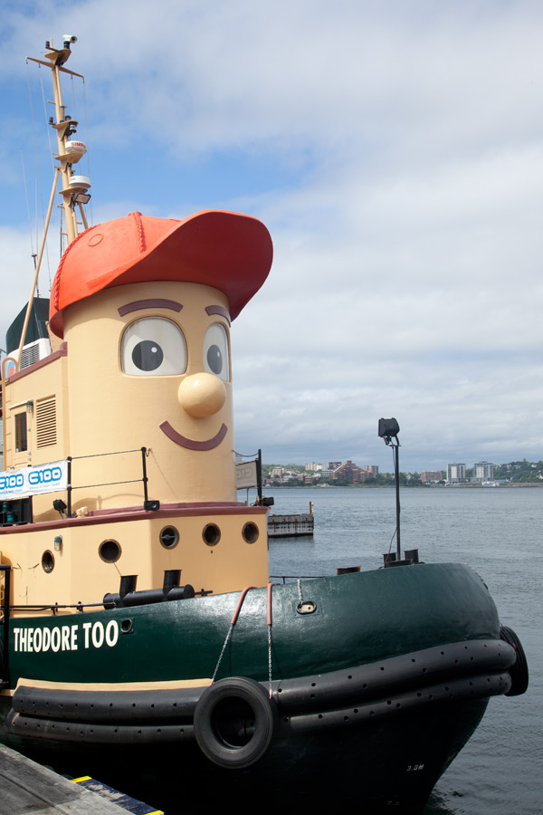 Theodore the tugboat halifax