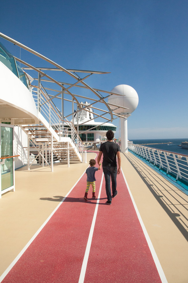 Family cruise holiday