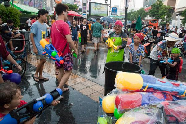 Bangkok Songkran Kids