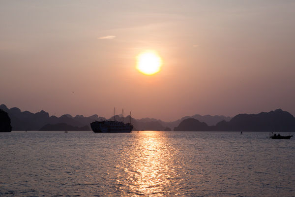 Halong Bay Vietnam cruise travel with kids