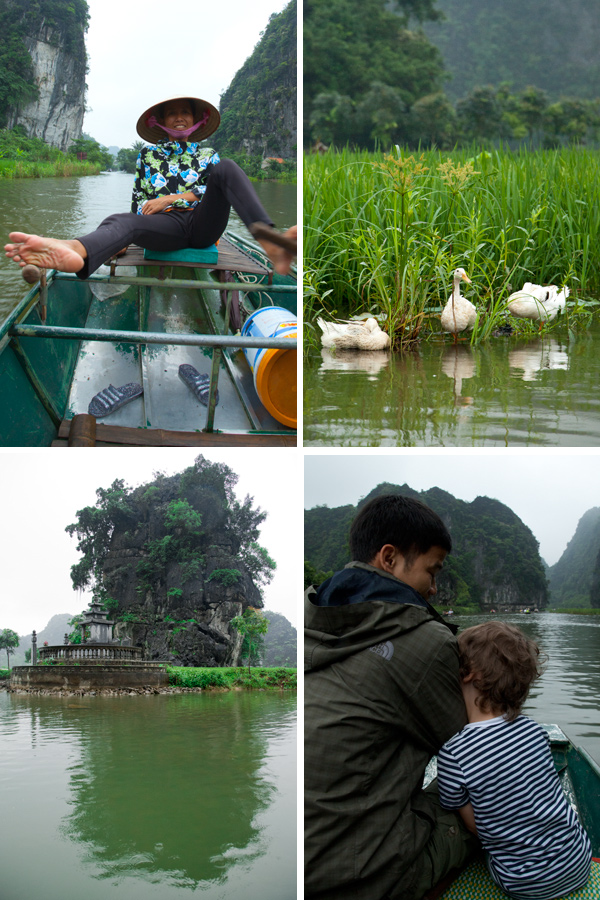 Ninh Binh, Vietnam, travel with children