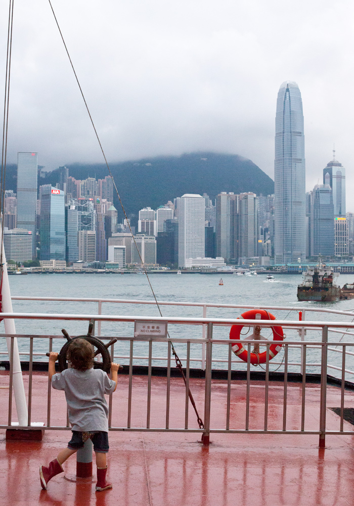 Hong Kong Harbour Cruise kids