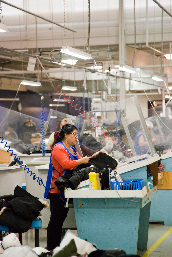 Behind The Scenes At Canada Goose The Tiny Times