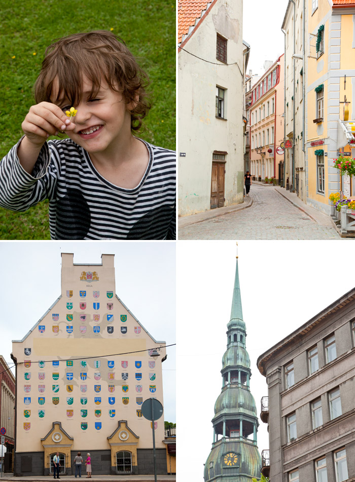 Family Travel Riga Lativa